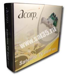 драйвера для спутниковой карты acorp ds
