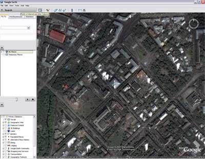 google earth программы для просмотра земли через спутник: